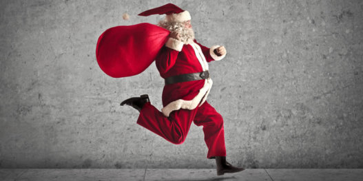running_santa